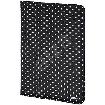 Hama Polka Dot - Fekete, fehér pöttyökkel - Tablet tok