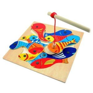 Fa horgászjáték - Oktató játék - Készségfejlesztő játék