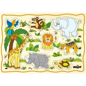 Woody puzzle táblán - 1 db - Kirakós játék