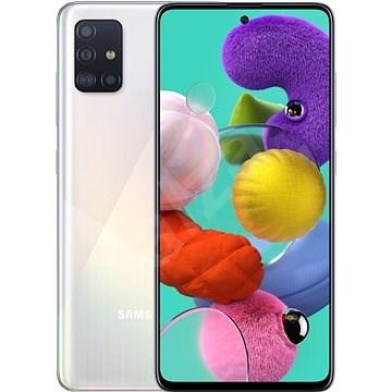Samsung Galaxy A51 fehér - Mobiltelefon