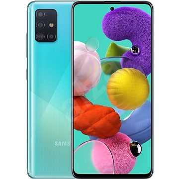 Samsung Galaxy A51 kék - Mobiltelefon