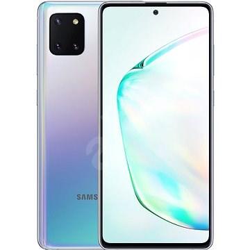 Samsung Galaxy Note 10 Lite ezüst színátmenet - Mobiltelefon