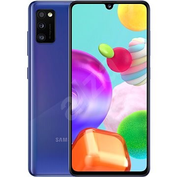 Samsung Galaxy A41 kék - Mobiltelefon