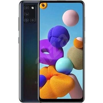 Samsung Galaxy A21s 128 GB fekete - Mobiltelefon