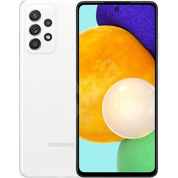 Samsung Galaxy A52 fehér - Mobiltelefon