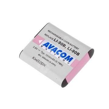 Avacom Olympus LI-90B Li-ion 3,7 V 1080mAh 3,9Wh-hoz - Fényképezőgép akkumulátor