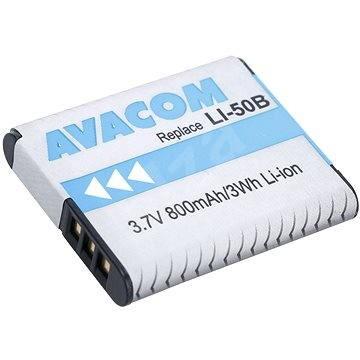 AVACOM az Olympus LI-50B Li-ionhoz 3.7 V 800mAh - Fényképezőgép akkumulátor