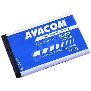 Avacom - Nokia 6303, 6730, C5, Li-Ion 3,7 V 1050 mAh (pót BL-5CT) - Mobiltelefon akkumulátor