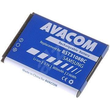 AVACOM akkumulátor Samsung X200, E250 készülékekhez, Li-ion, 3,7 V, 800 mAh - Mobiltelefon akkumulátor