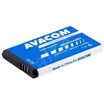 AVACOM akkumulátor Samsung B2710, C3300 készülékekhez, Li-Ion, 3,7 V, 1000 mAh (AB553446BU helyett) - Mobiltelefon akkumulátor