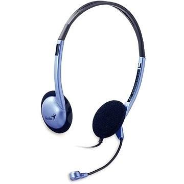 Genius HS-02B - Fej-/fülhallgató
