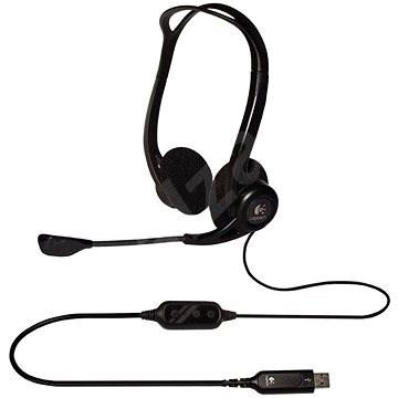 Logitech PC Headset 960 USB - Fej-/fülhallgató