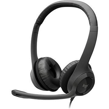 Logitech USB Headset H390 - Fej-/fülhallgató