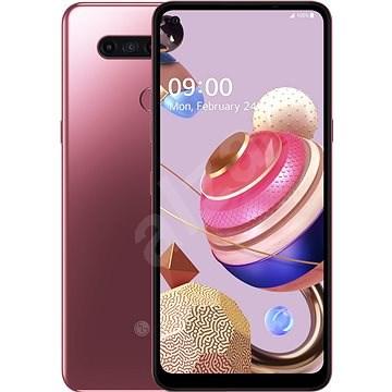 LG K51S rózsaszín - Mobiltelefon