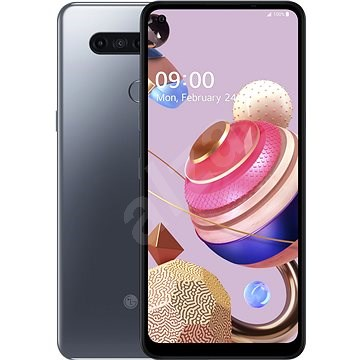 LG K51S szürke - Mobiltelefon