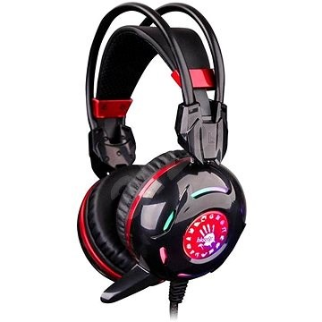 A4Tech Bloody G300 fekete - Gamer fejhallgató