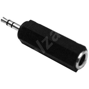 Átalakító OEM audio 6.3mm JACK --> 3.5mm JACK - Átalakító