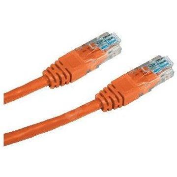 Datacom CAT5E UTP 0,5 m narancssárga - Hálózati kábel