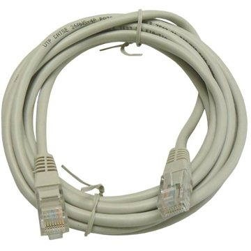 OEM, CAT5E, UTP, 3m, szürke - Hálózati kábel