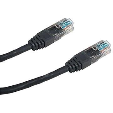 Datacom CAT5E UTP 5 m fekete - Hálózati kábel