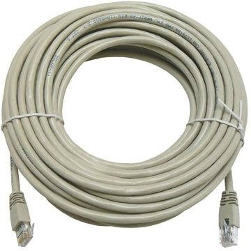 Datacom CAT5E UTP szürke 15 m - Hálózati kábel