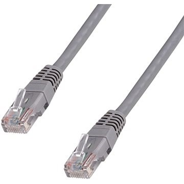 Datacom CAT5E UTP szürke 30 m - Hálózati kábel