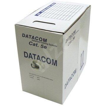 Datacom, sodrott, CAT5E, UTP, 305m/box - Hálózati kábel