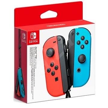 Nintendo Switch Joy-Con kontroller Neon Red/Neon Blue - Kontroller
