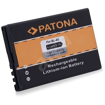 PATONA Nokia BL-4U 1200mAh 3,7V Li-Ion - Mobiltelefon akkumulátor