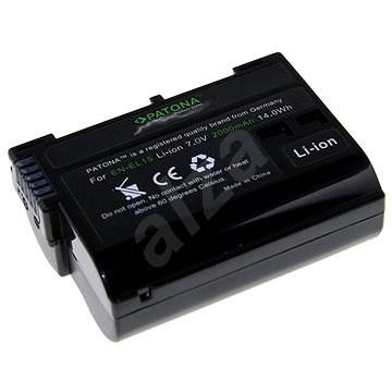 PATONA a Nikon EN-EL15 2000mAh Li-Ion prémiumhoz - Fényképezőgép akkumulátor