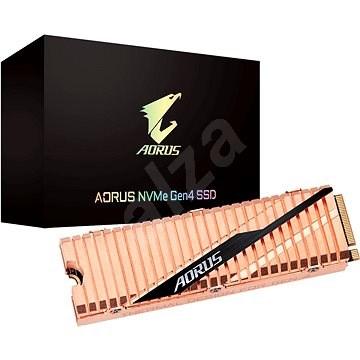 GIGABYTE AORUS NVMe Gen4 SSD 500GB - SSD meghajtó