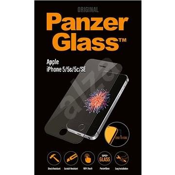 PanzerGlass Edge-to-Edge az Apple iPhone 5 / 5S / 5C / SE tiszta - Képernyővédő