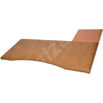 Ergonómikus billentyűzet és egérpad 2-es méret, barna - Csuklóvédő