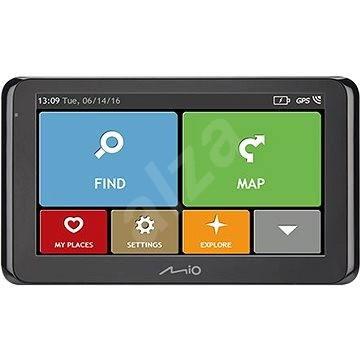 MIO Spirit 8500 Lifetime - GPS navigáció