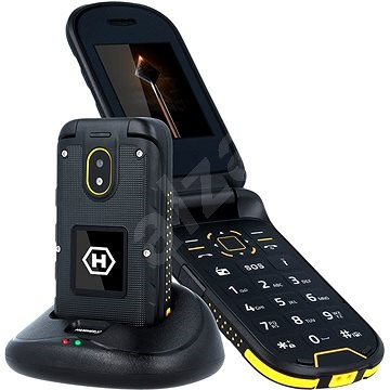 myPhone HAMMER Bow Plus narancs-fekete - Mobiltelefon