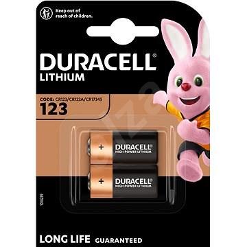 Duracell Ultra CR123A 2 db - Eldobható elem