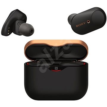 Sony WF-1000XM3 fekete - Vezeték nélküli fül-/fejhallgató