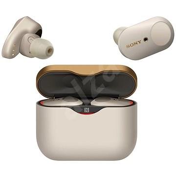 Sony True Wireless WF-1000XM3 ezüst - Vezeték nélküli fül-/fejhallgató