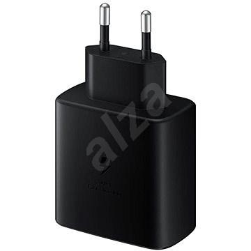 Samsung Töltő gyorstöltés támogatással (45W) fekete - Hálózati adapter