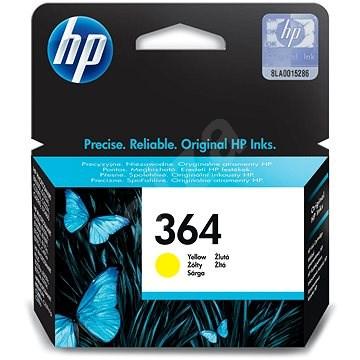 HP CB316EE 364 tintapatron sárga - Tintapatron