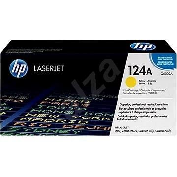 HP Q6002A sz. 124A sárga - Toner