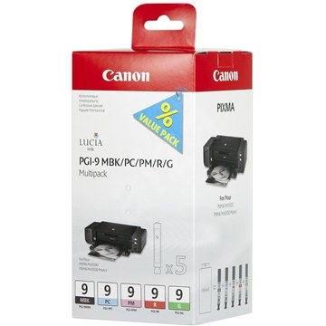 Canon PGI-9 MBK/PC/PM/R/G MultiPack - Tintapatron