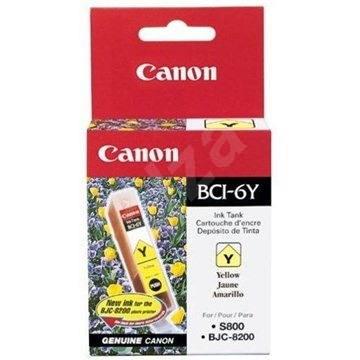 Canon BCI6Y sárga (borostyán) - Tintapatron