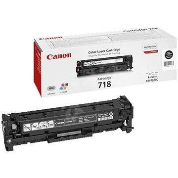 Canon CRG-718BK fekete - Toner