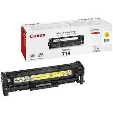 Canon CRG-718Y sárga - Toner