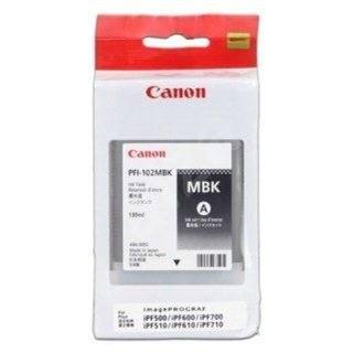 Canon PFI-102MBK matt fekete - Tintapatron
