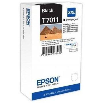 Epson T7011 fekete XXL - Tintapatron