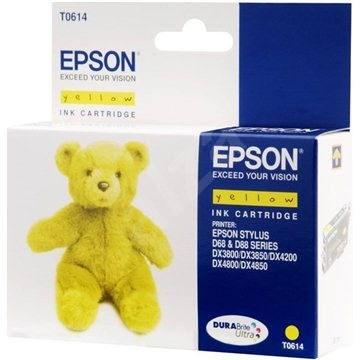 Epson T0614 sárga - Tintapatron