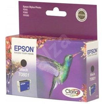 EPSON T0801 fekete - Tintapatron