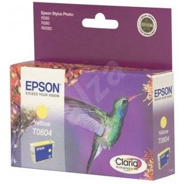 Epson T0804 sárga - Tintapatron